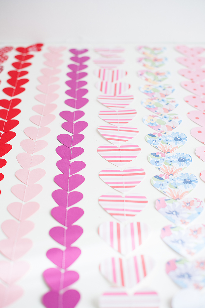 Heart Garland DIY