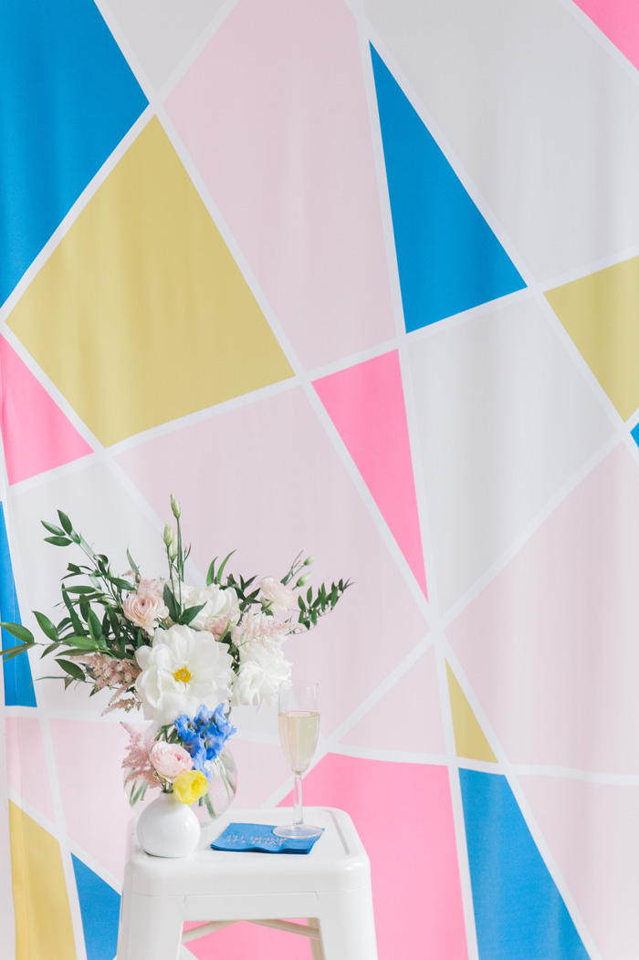 geometric-wedding-backdrop