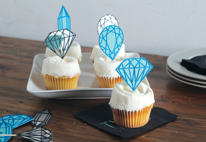 gemstoneCupcakeToppers