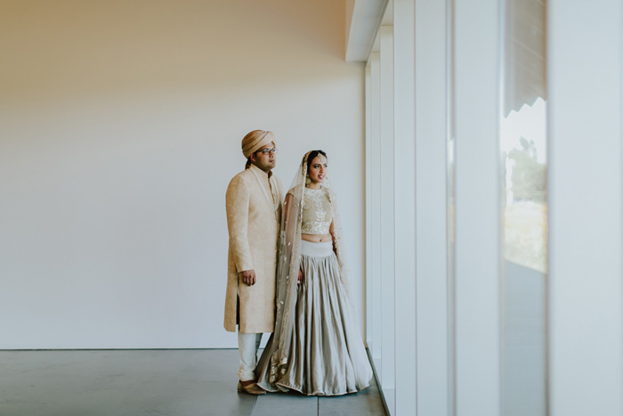 Nimi and Rush's wedding at Parrish Art Museum
