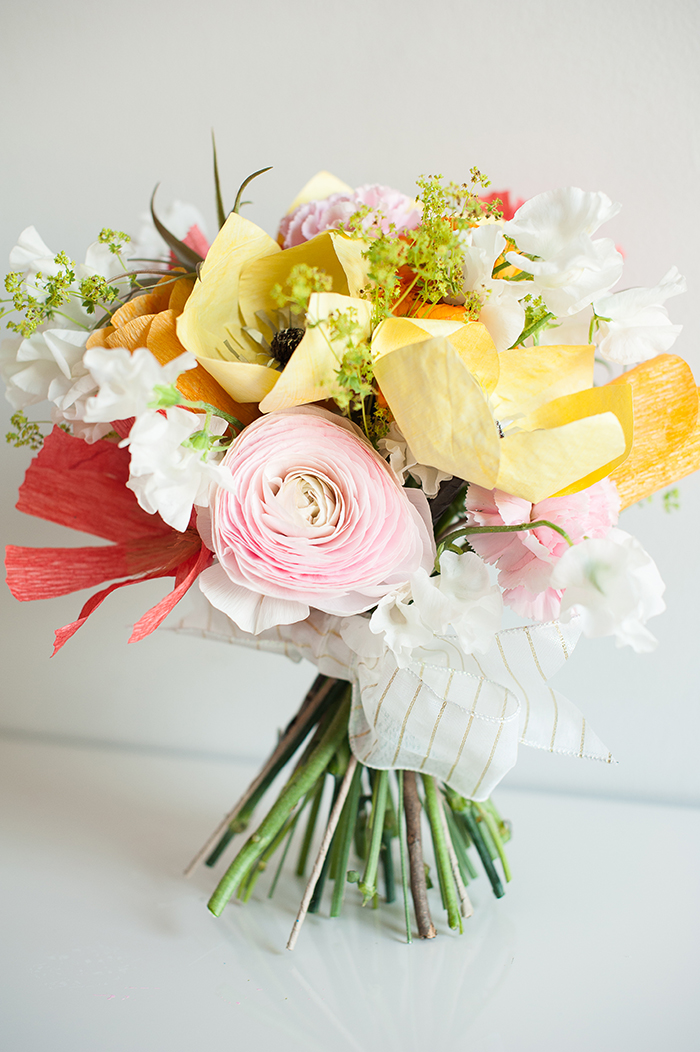 Diy Bridal Bouquet Nyc Event Designer And Florist Michelle