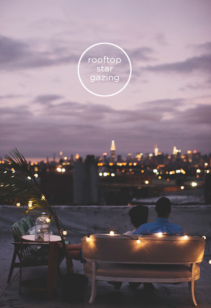Date Idea Rooftop Dinner Nyc Event Designer And Florist