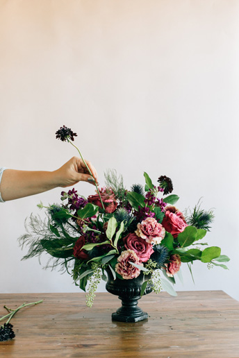 how to make a floral centerpiece for a wedding