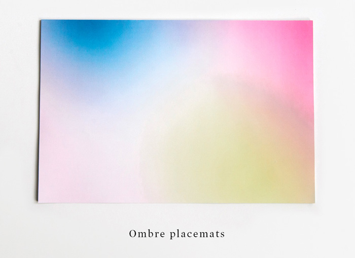 Ombre-placemat