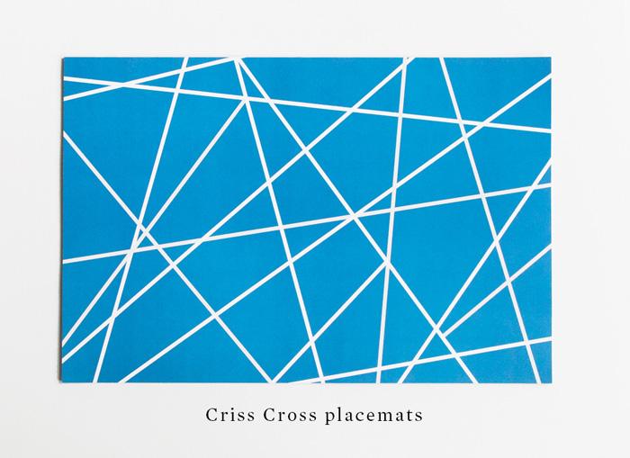 crisscross-placemats