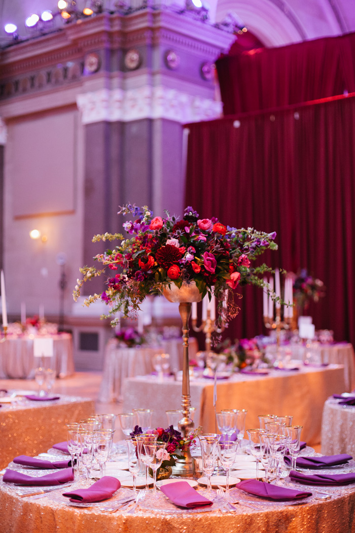 Tall Wedding Centerpiece Brooklyn Floral And Event Design By