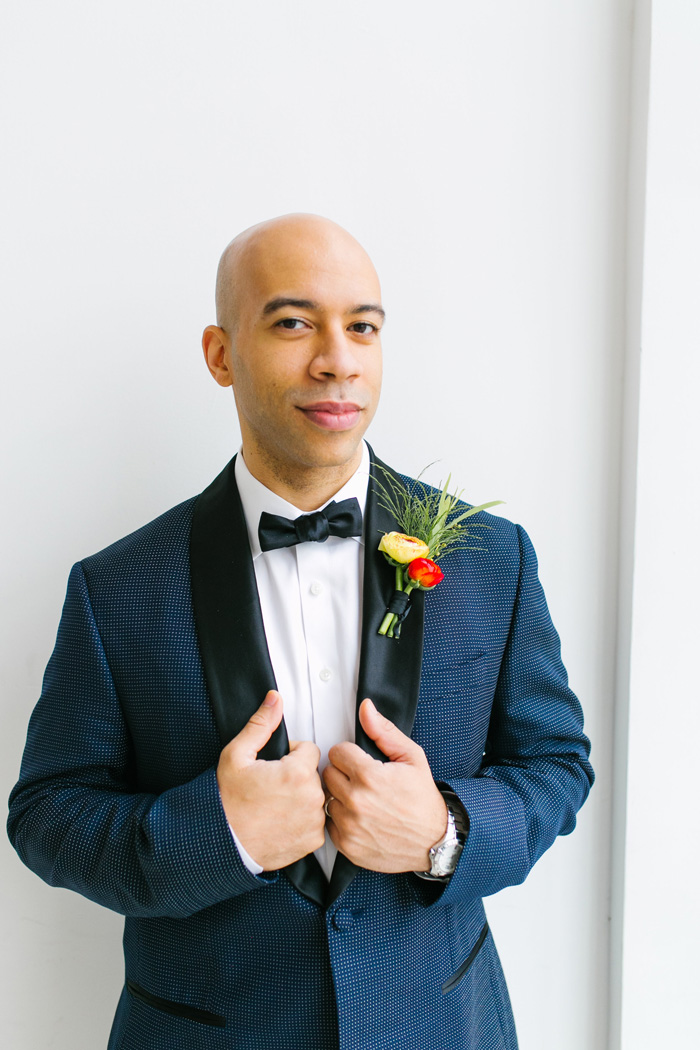 navy-suit-groom - Brooklyn Floral and Event Design by Michelle ...
