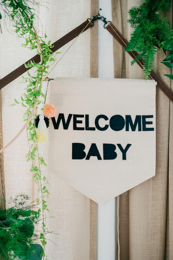 Welcome Baby Sign Michelle Edgemont Design