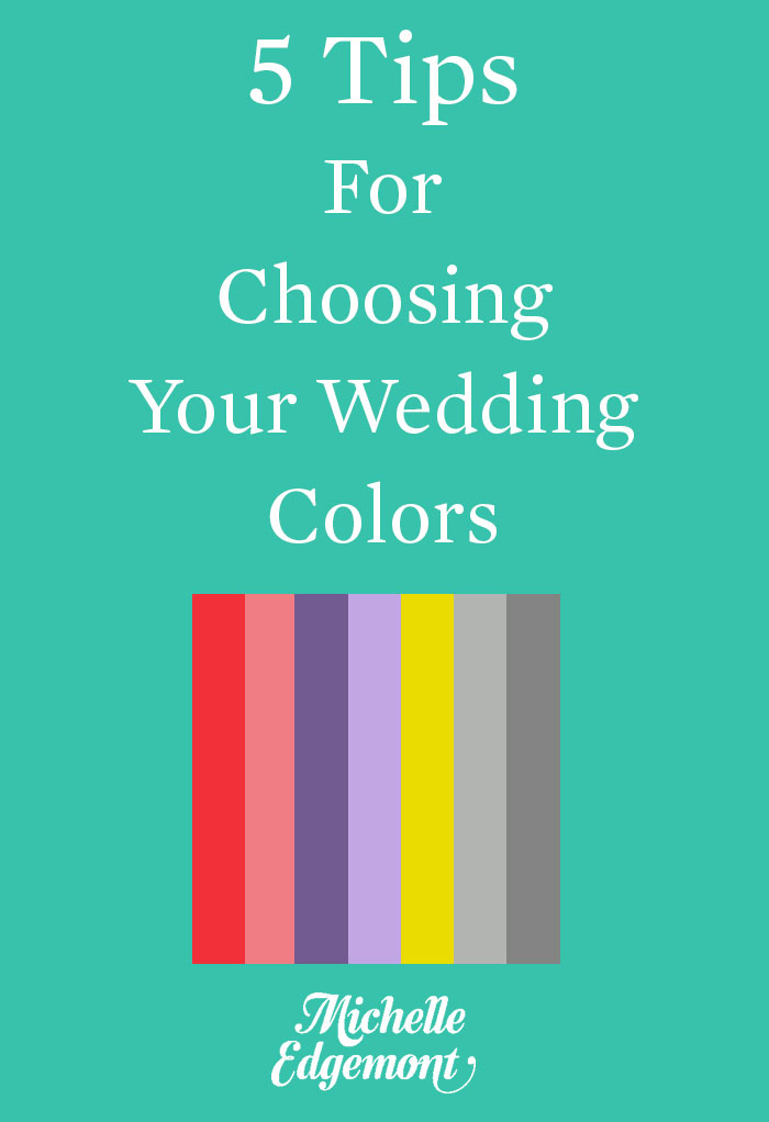 How To Choose Wedding Colors Nyc Event Designer And